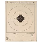 Hoppe's 9 50ft Junior Rifle Single Bull 7 x 9 Paper A1 10 Packs