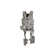 Leapers Ultimate Tactical Gear Modular 10 Piece Complete Web Vest and Drop Leg Platform Kit