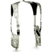 Leapers Adjustable Law Enforcement Vertical Shoulder Holster for Pistol/Flashlight/Laser Accessories
