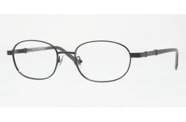 a77e13f2a2 Brooks Brothers BB489 SV Prescription Eyeglasses - Black Frame   52 mm Prescription  Lenses