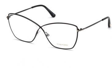 4ab94f77621 ... Prescription Eyeglasses Comments. Tom Ford FT5518 Eyeglass Frames -  Shiny Black Frame Color
