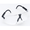 3M Lexa Eyewear Large Black Temple Safety Glasses