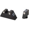 Ameriglo Night Sight Set Tall Suppressor Style All Fits Glock Models - Front & Rear Sight
