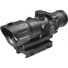 Barska 1x30 Illuminated Tactical Red Dot Riflescope w/ 3X Magnifier