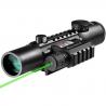 Barska 4x28 IR Electro Sight / GLX Green Laser Sight Combo Pack