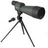 Barska 25-125x88 WP Benchmark Straight Spotting Scope w/ Handheld Tripod, Table Top Tripod, Soft Carrying Case, Hard Case