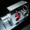 Bel-Art Acrylic Glove Box, SCIENCEWARE T50025-0320 Clamping Ring