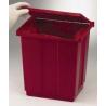 Bel-Art Benchtop Biohazard Waste Disposal Can, SCIENCEWARE F131970000