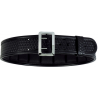 Bianchi 7965 ErgoTek Sam Browne Basketweave Black Brass Buckle Belt