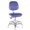 Bio Fit Cleanroom/ESD Chairs, 4V Series, BioFit 4V571000CRC Class 1000 Cleanroom Chairs (Ship Now! Models)