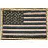 BlackHawk Patch- American Flag Tan/Black