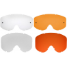 Bobster MX1 Replacement Lens and Tear Off Lens Clear or Orange