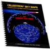 Celestron Sky Maps Chart - Illustrated Star Map Atlas / Deep Sky objects Reference Guide 93722