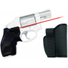 Crimson Trace LG 405 Laser Grip with Rubber Over Mold for Smith & Wesson J-Frame Pistol