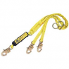 DBI-SALA L-Yard,Ez Stopii Shock Absorb, YELLOW