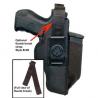 DeSantis Ambidextrous - Black - Large - Thumb Break Strap for N87 N99BJG2Z0