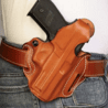 DeSantis Thumb Break Scabbard Holsters - Smith & Wesson Pistols, also fits Ruger, Dan Wesson 15, Colt, Taurus, Walther, Charter Arms.