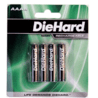 Dorcy AAA NiMH Rechargeable Batteries, 4-Pack 41-1161