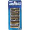 Dorcy D Mastercell Alkaline Batteries - 4 Per Card 41-1621