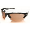 Edge Eyewear Khor Safety Glasses w/ Black Frame