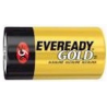 Energizer Gold Eveready D Batteries 1.5 Volts