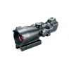 Bushnell Trophy 1x32 Riflescope, Matte Black - Red & Green T-Dot Reticle