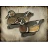 FinalApproach Wood Duck Decoy, 6 Pack
