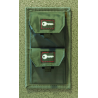 GPS Tactical Key Storage Pouch- Twin