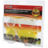 Howard Leight HL800 Sharp Shooter Multi-pack Glasses Clear & Amber