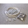 JUGS Batting Cage Install Kits, Indoor / Outdoor / Ceiling