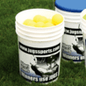 Jugs Sports Ball Buckets w/ Pro Sport graphics