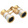 Konus 3x25 Deluxe Gold/White Opera Glasses - 2055