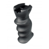 Leapers UTG New Gen Combat Eronomic Polymer Foregrip w/ Concealed Compartment - Black RB-FGRP172B