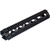 Leapers UTG Pro Model 4/15 Rifle Length Quad Rail System - Black MTU003