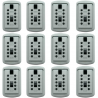 LockState KD-110 KeyDock Padlock for Wall Mount Lock Box