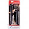 Monadnock Autolock Baton Duty Kit w/ Power Safety Tip & Plain Holder - 22in