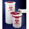 Nalge Nunc Biohazardous Waste Containers, NALGENE 6370-0005