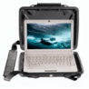 Pelican i1075 HardBack Case for iPad w/ Cushion Insert and Strap 1070-005-110