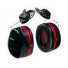Peltor Optime 105 Black/Red Double Shell Earmuff