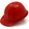 Pyramex Cap Style 4 Point Ratchet Suspension Hard Hat - Hi Vis Orange
