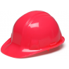 Pyramex Cap Style 4 Point Ratchet Suspension Hard Hat - Hi Vis Pink HP14170