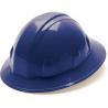 Pyramex Full Brim 4 Point Ratchet Suspension Hard Hat - Blue HP24160