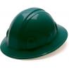 Pyramex Full Brim 4 Point Ratchet Suspension Hard Hat - Green HP24135