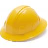 Pyramex Full Brim 4 Point Ratchet Suspension Hard Hat - Yellow
