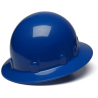 Pyramex Sleek Shell Full Brim 4 Point Ratchet Suspension Hard Hat - Blue