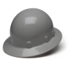 Pyramex Sleek Shell Full Brim 4 Point Ratchet Suspension Hard Hat - Gray