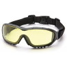 Pyramex V3G Safety Glasses / Goggles w/ Interchangeable Temples & Strap