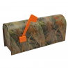 River's Edge Bass Metal Mailbox, 40in.x 16in.x10in.