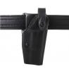Safariland 6280 Level II Retention, Mid-Ride Holster - STX Plain Black, Right Hand 6280-53-411