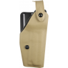 Safariland 6280 Level II Retention, Mid-Ride Holster - STX FDE Brown, Right Hand 6280-93-551